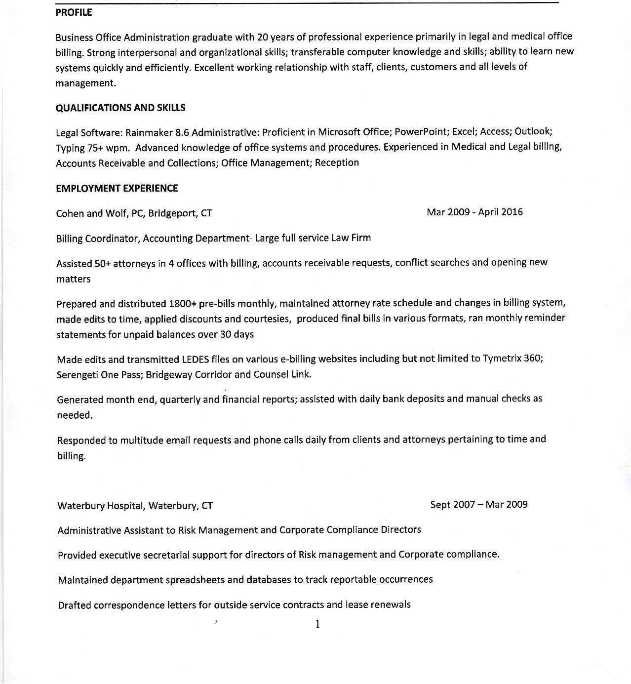 contract administrator cover letter template aix medical
